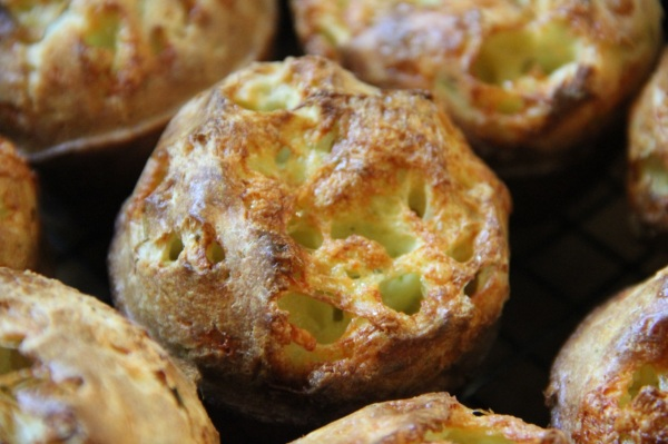 Dilly Cheese Popovers