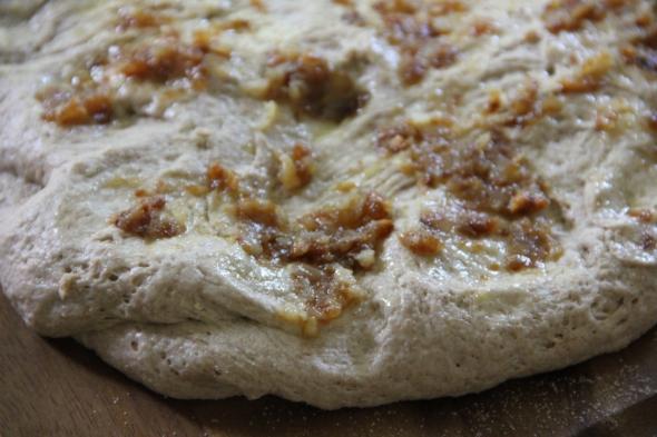 Whole Wheat Fougasse - Shaping