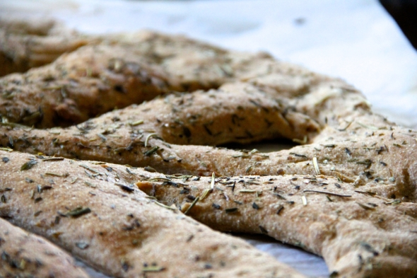 Whole Wheat Fougasse